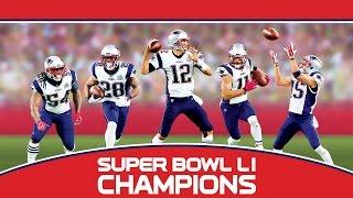 Super Bowl LI: New England Patriots Championship Commemorative DVD Trailer