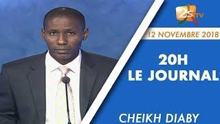 JOURNAL FRANÇAIS 20H DU 12 NOVEMBRE 2018 AVEC CHEIKH DIABY