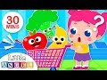 Jack & Jill go to Supermarket | Vegetables & Colors | More Kids Songs by Little Angel
