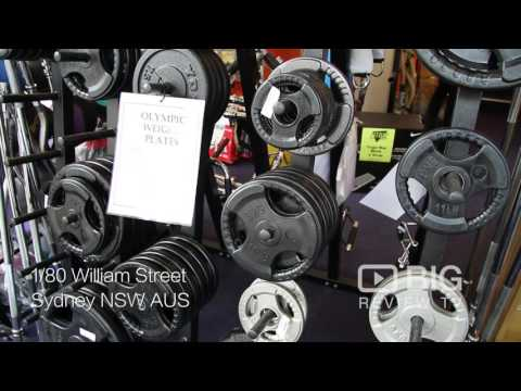 Fitbiz Exercise Equipment, A Retail Store In Sydney Selling Gym Equipment Or Weight Machine