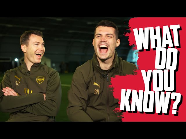 CAN YOU NAME SPAINS 2010 SQUAD? | Stephan Lichtsteiner v Granit Xhaka | What do you know?