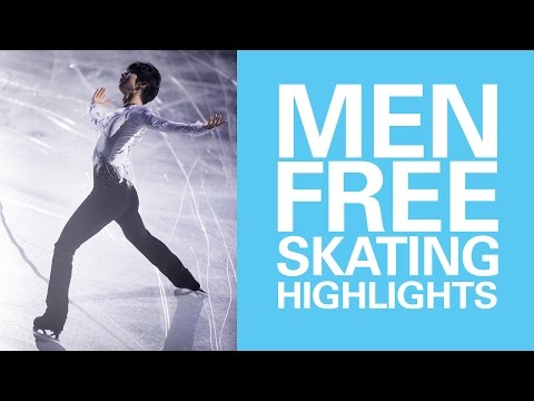 Men Free Skating Highlights - Helsinki 2017