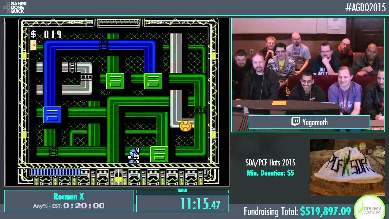 Awesome Games Done Quick 2015 Part 107 Rocman X By