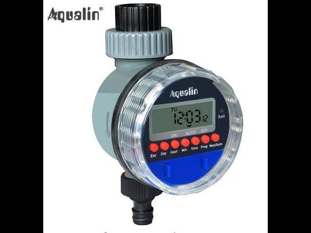 Aqualin автоматический таймер полива,для дачи.капельный полив.