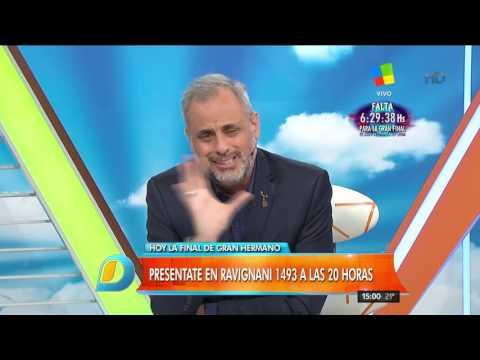 Largo monólogo de Jorge Rial para despedirse de la conducción de Gran Hermano