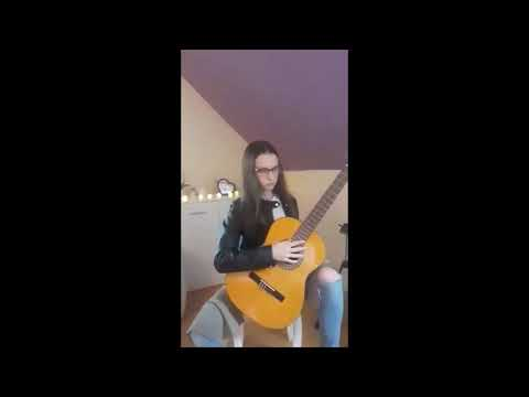 Prosto Ze Słonecznej Hiszpanii - Malaguena (ar. B. Tyers) - Kinga Ruman,  Uczennica Gitary A. Cyrek