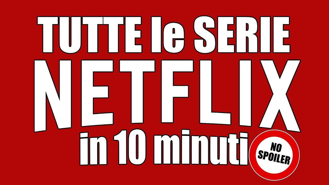 Download TUTTE le SERIE NETFLIX in 10 minuti 📺 NO SPOILER