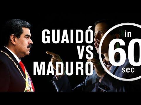 Venezuela: Guaidó vs Maduro | IN 60 SECONDS