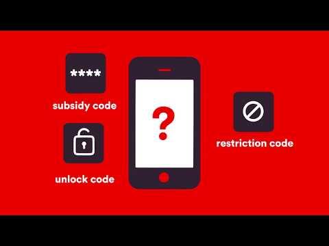 Virgin Mobile SIM swap - How to unlock code?