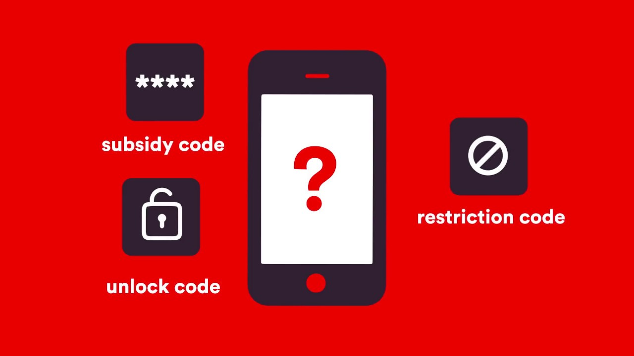 Virgin Mobile SIM swap - How to find your unlock code?