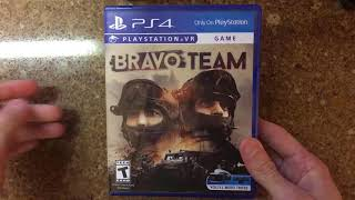 Bravo Team PSVR Unboxing PS4