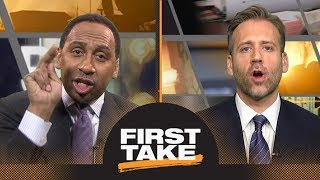 Stephen A. and Max fiercely debate Dwyane Wade