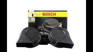 2017 BOSCH H3F Horn Quick Installation and Demo