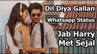 A Romantic | Whatsapp Status | Shahrukh Khan | Anushka Sharma | Atif Aslam