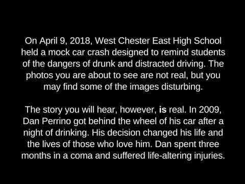 West Chester East High School Mock Crash