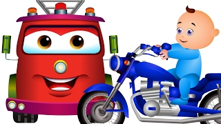 Learn Colors With Transport Vehicles & Many More | Nursery Rhymes & Kids Songs Compilation