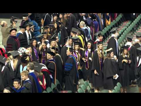 2017 Rider University Undergraduate Commencement Ceremony