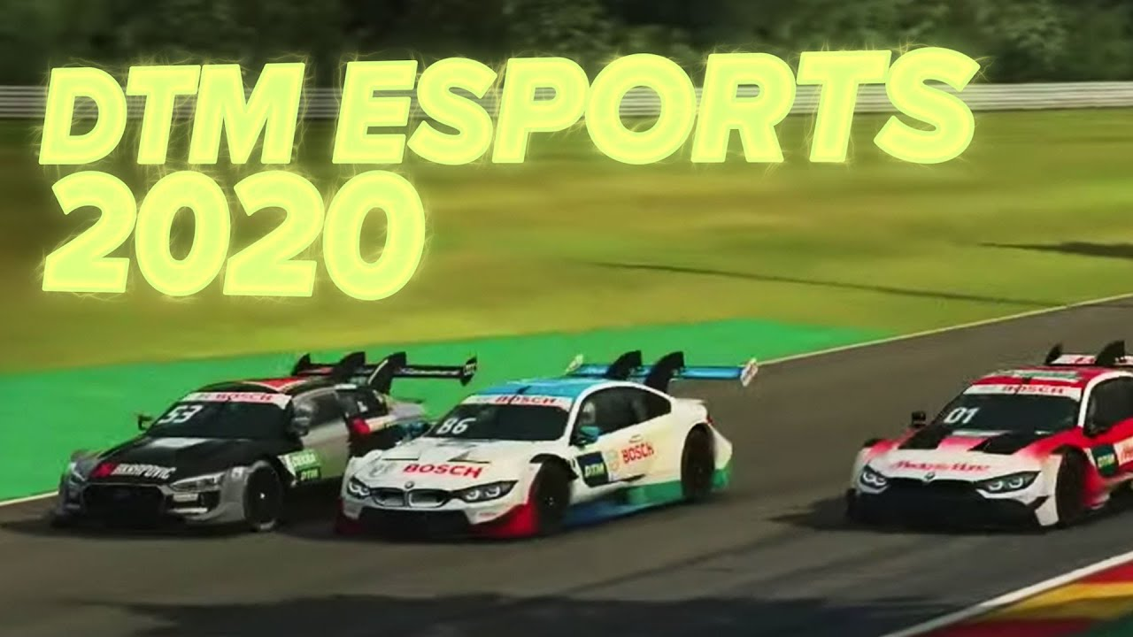 DTM ESPORTS 2020 🎮🏎🏆 DTM Compilation