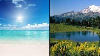 Горы или пляж: Ваш выбор расскажет все о вашем характере