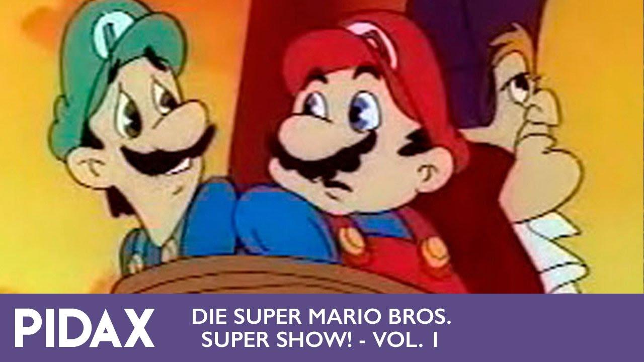 Pidax Die Super Mario Bros Super Show Vol 1 1989 Tv Serie