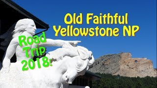 Old Faithful - Yellowstone National Park - Wyoming - USA