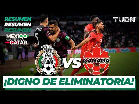Resumen y goles | México vs Canadá | Eliminatoria Catar 2021 | TUDN