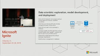 SQL Server Machine Learning Services: An E2E platform for machine learning - BRK2183