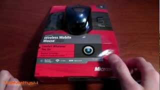 Microsoft Wireless Mobile Mouse 3500 Unboxing and Review
