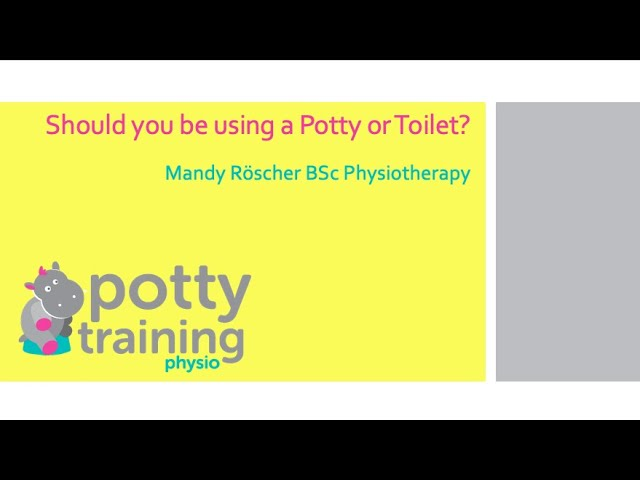 Potty or Toilet? The ultimate debate