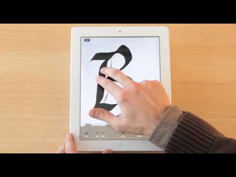 Calligraphy Practice, la app para aprender caligrafía en el iPad