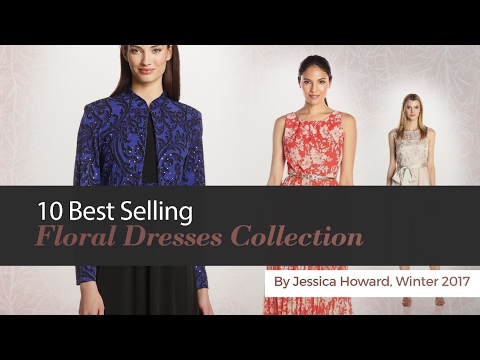 10 Best Selling Floral Dresses Collection By Jessica Howard, Winter 2017
