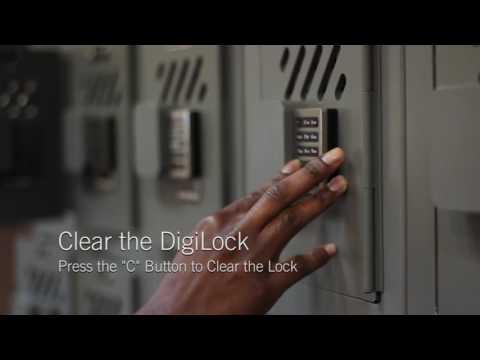 Digilock - How to Use the DigiLock Lockers