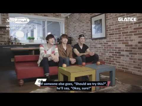 [ENG SUB] 20150413 Glance TV With Royal Pirates