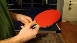 Table Tennis Paddle Review - Donic Waldner Legend