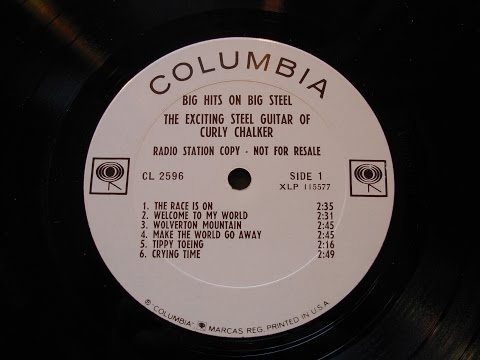 Curly Chalker Steel Guitar solo LP from 1966