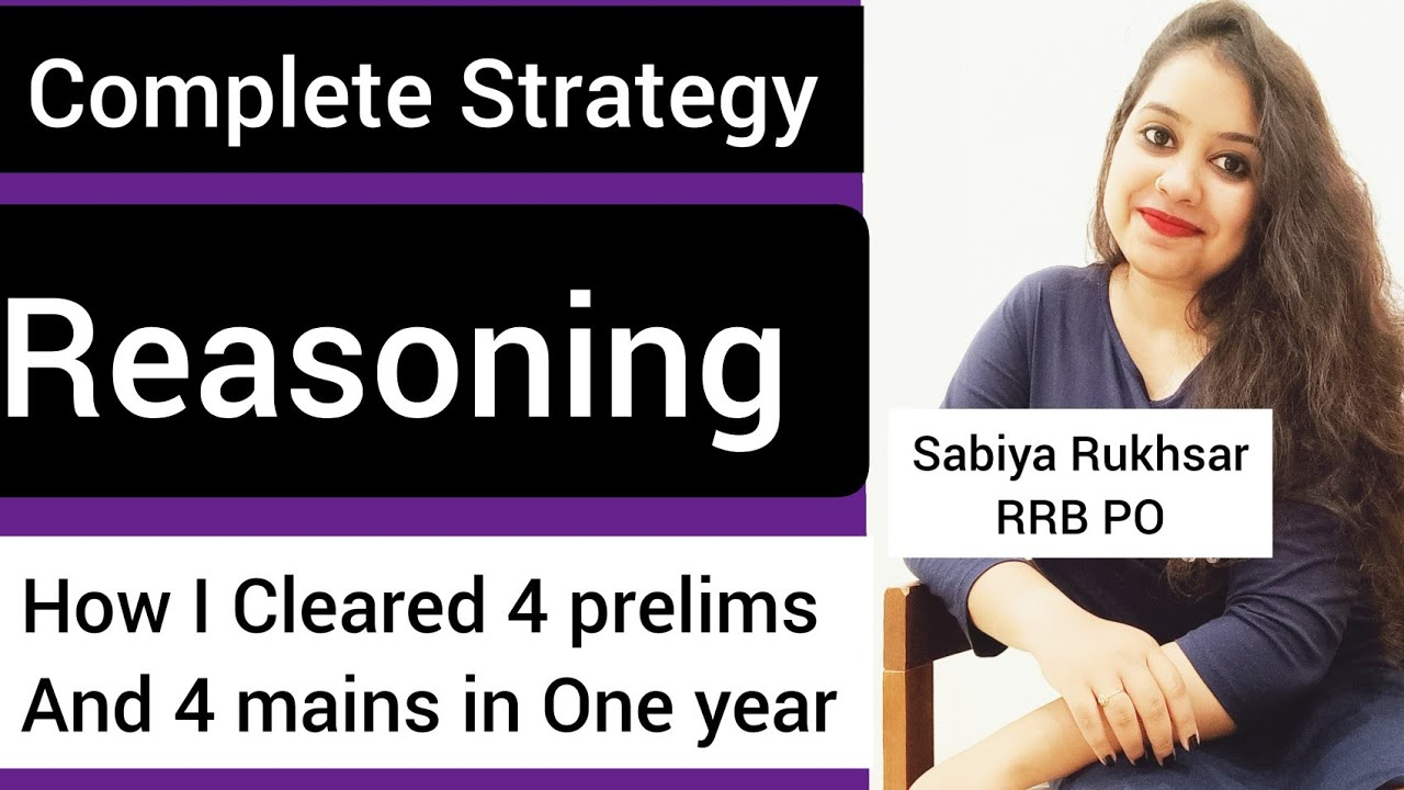 Reasoning 🔴Complete Strategy-Pre and Mains 🔴 #IBPS #RRB #SBI