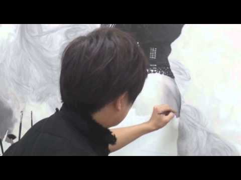 Painting Process by Artist. Lee Guk-Hyun: Oil painting