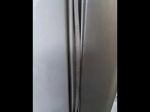 HD canh chỉnh ron tủ lạnh bị chai