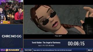 #ESASummer18 Speedruns - Tomb Raider: The Angel of Darkness [Any%] by Cadarev