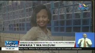 Kumbukizi za walioangamia katika ajali ya helikopta ziwa Nakuru