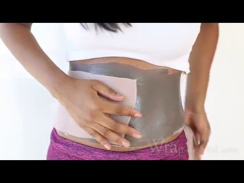 DETOX CLAY  BODY WRAP -DIY WEIGHT LOSS BODY WRAP