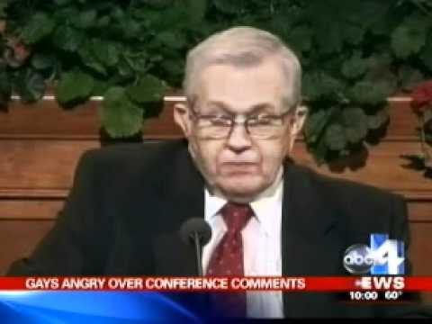 HRC: Mormon leader Boyd K. Packer gives anti-gay sermon after suicides