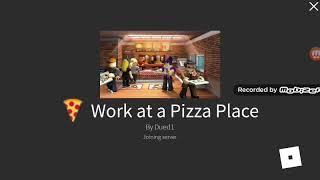 roblox trabajo en un lugar de la plaza