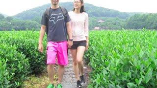 Hangzhou Vlog: Green Tea Fields!