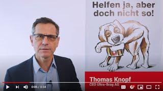 Statement zur Unternehmens-Verantwortungs-Initiative von Thomas Knopf, CEO Ultra-Brag AG