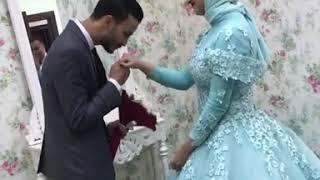 ايه الجمال دا هو في كدا 💜 اجمل عريس و عروسه  (حاله واتس 💙)