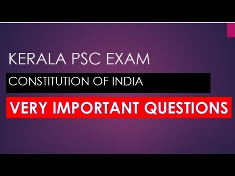 PSC EXAM CONSTITUTION OF INDIA IMPORTANT | COMPANY BOARD EXAM | CIVIL POLICE OFFICER EXAM