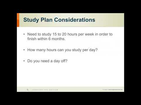 Time Management Tips For Studying for the CPA Exam   Surgent CPA Review Webinar Preview