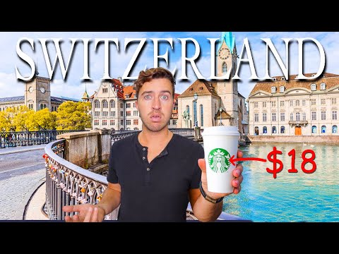What Can $100 Get in SWITZERLAND (World's Most Expensive Country)