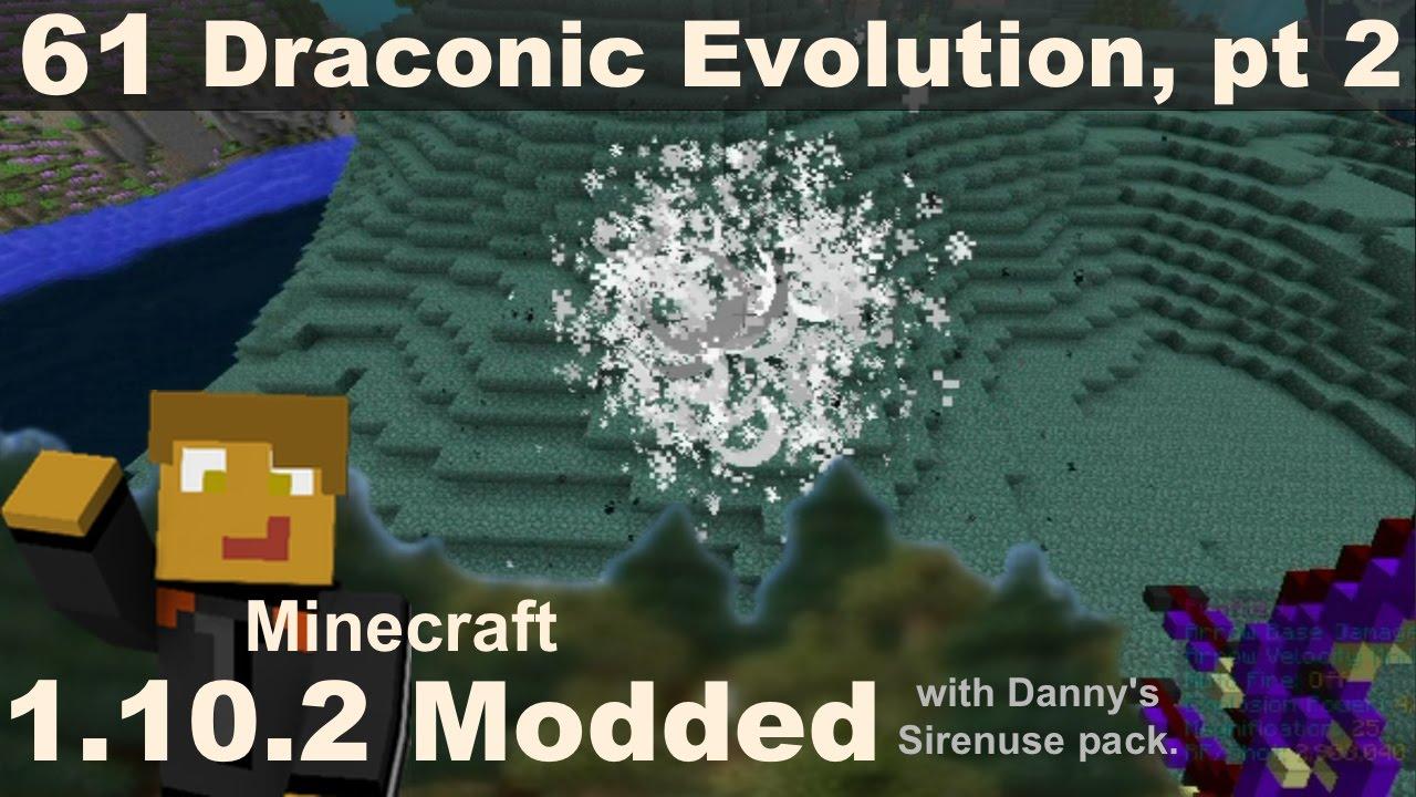 Modded 1 10 2 - E61 - Draconic Evolution, Wyvern Tier Upgrades